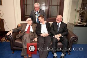 Liam Neeson becomes Freeman of Ballymena Ballymena Co. Antrim Northern Ireland Monday 28th January 2013