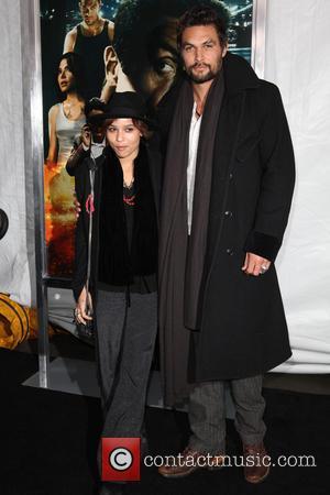 Zoe Kravitz and Jason Momoa - Bullet to the Head Premiere New York City New York  United States Tuesday...