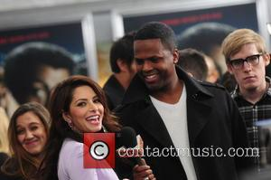 Sarah Shahi and AJ Calloway - Bullet to the Head premiere New York City New York United States Tuesday 29th...