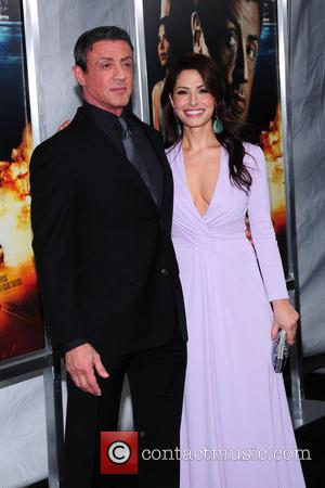 Sarah Shahi and Sylvseter Stallone - Bullet to the Head premiere New York City New York United States Tuesday 29th...