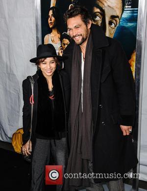 Jason Momoa and Zoe Kravitz - New York premiere of 'Bullet to the Head' New York City NY United States...