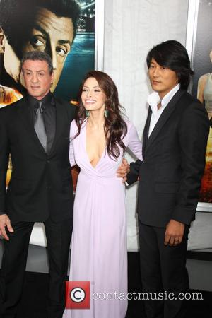 Sarah Shahi and Sylvester Stallone - New York premiere of