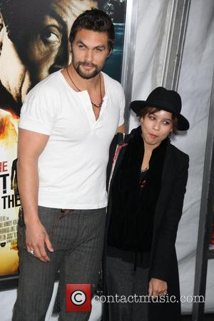 Zoe Kravitz and Jason Momoa - New York premiere of