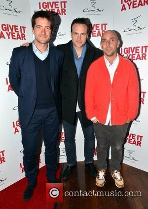 Kris Thykier (producer), Rafe Spall and Daz Mazer (director)