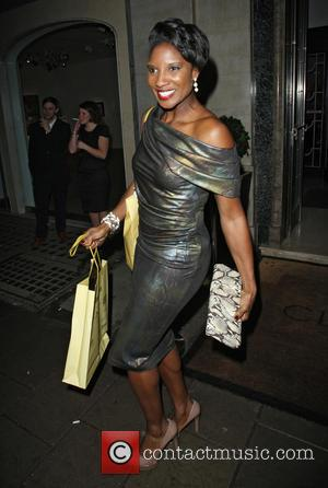Denise Lewis - Radio Times Covers Party 2013 London United Kingdom Tuesday 29th January 2013