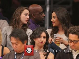 Troian Bellisario and Shay Mitchell