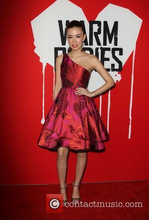 Christian Serratos - Warm Bodies Premiere - Red Carpet Hollywood California USA Tuesday 29th January 2013