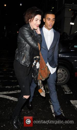 Lucien Laviscount - Celebrities At Groucho London United Kingdom Wednesday 30th January 2013