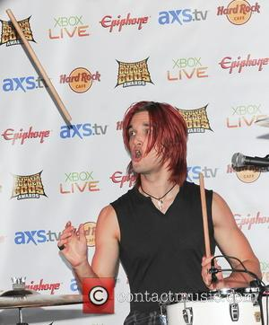 Halestorm's Arejay Hale - 'Revolver Golden Gods Awards' nominations announcement Los Angeles California United States Wednesday 30th January 2013