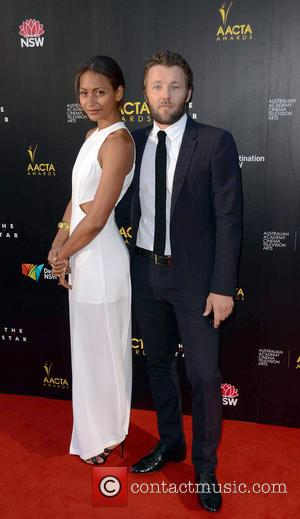 Joel Edgerton and Alexis Blake
