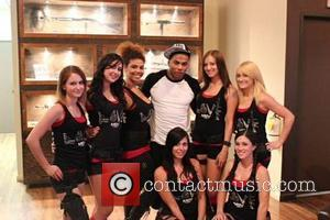 Nelly - Rapper Nelly was at Machine Guns Vegas Las Vegas Nevada United States Wednesday 30th January 2013