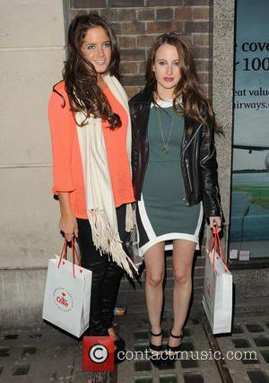 Binky Felstead and Rosie Fortescue