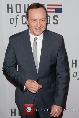 Kevin Spacey at the New York premier of his new show