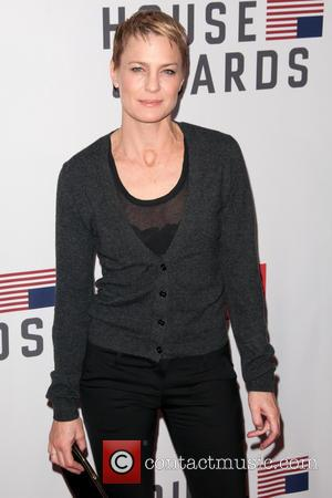 Co-star Robin Wright at the New York premier