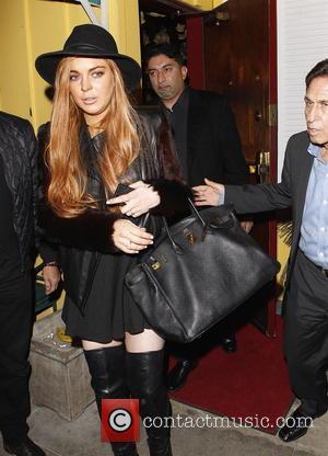 Lindsay Lohan and Mark Heller