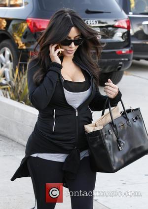 Kim Kardashian - Kim Kardashian leaves the Andy Lecompte Salon...