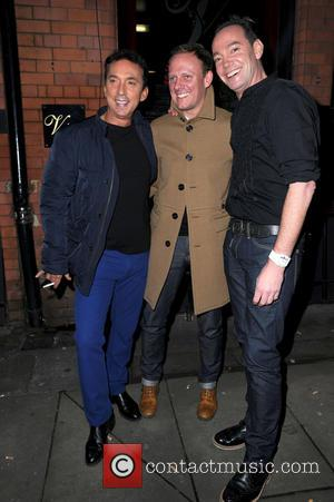 Bruno Tonioli, Antony Cotton and Craig Revel Horwood - Strictly Come Dancing Party Manchester United Kingdom Thursday 31st January 2013