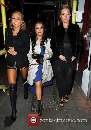 Iveta Lukosiute, Dani Harmer and Denise Van Outen - Strictly Come Dancing Party Manchester United Kingdom Thursday 31st January 2013