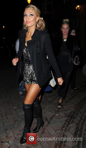 Iveta Lukosiute - Strictly Come Dancing Party Manchester United Kingdom Thursday 31st January 2013