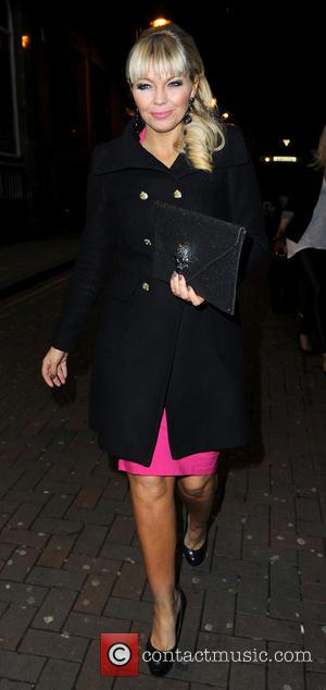 Kate Thornton - Strictly Come Dancing Party Manchester United Kingdom Thursday 31st January 2013
