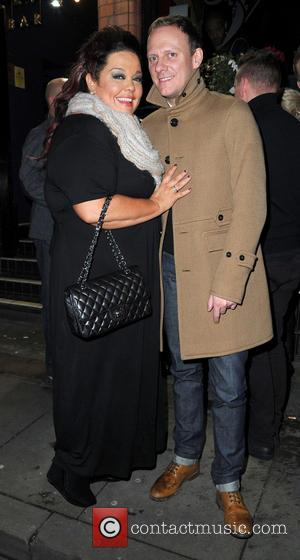 Lisa Riley and Antony Cotton - Strictly Come Dancing Party Manchester United Kingdom Thursday 31st January 2013