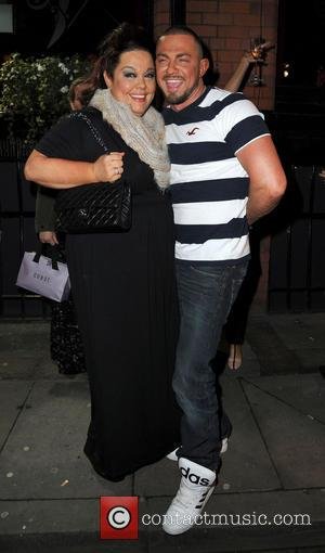 Lisa Riley and Robin Windsor - Strictly Come Dancing Party Manchester United Kingdom Thursday 31st January 2013