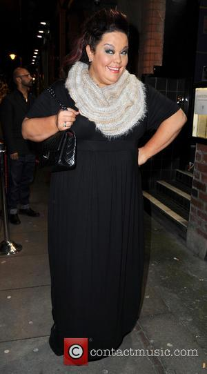 Lisa Riley - Strictly Come Dancing Party Manchester United Kingdom Thursday 31st January 2013