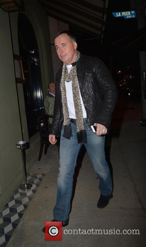 David Furnish - Celebrities at Craig's Restaurant Los Angeles United States Thursday 31st January 2013