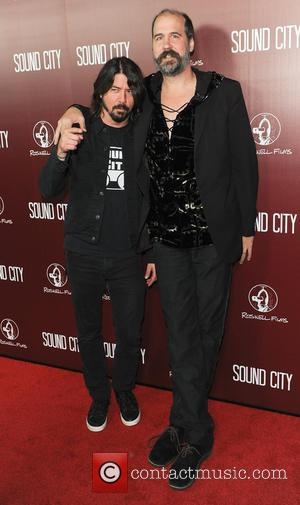 Dave Grohl - The Los Angeles premiere of