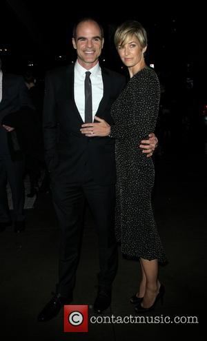 Michael Kelly and Karen Kelly - 'House Of Cards' Premiere New York City New York United States Thursday 31st January...