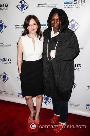 Julie Burns and Whoopi Goldberg