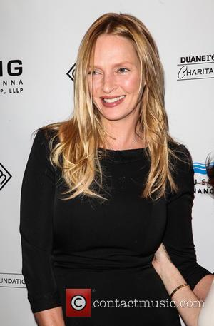 Uma Thurman, Room To Grow Gala, New York