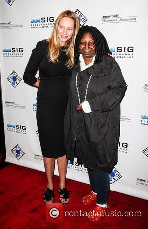 Uma Thurman and Whoopi Goldberg