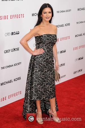 Catherine Zeta-Jones - New York Premiere of 'Side Effects' New York City NY United States Thursday 31st January 2013