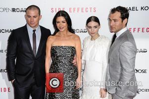 Channing Tatum, Catherine Zeta-Jones, Rooney Mara and Jude Law - New York Premiere of 'Side Effects' New York City NY...