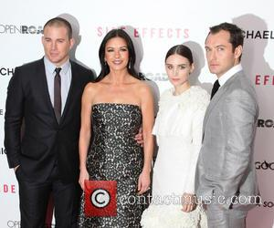 Channing Tatum, Catherine Zeta-Jones, Rooney Mara and Jude Law - Premiere of