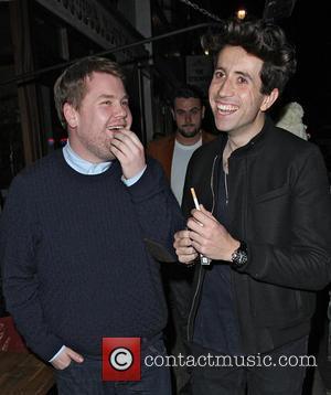 James Corden and Nick Grimshaw