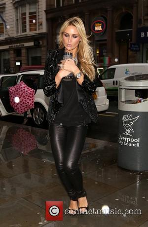 Alex Curran - Alex Curran Back To Glamour Liverpool England United Kingdom Friday 1st February 2013