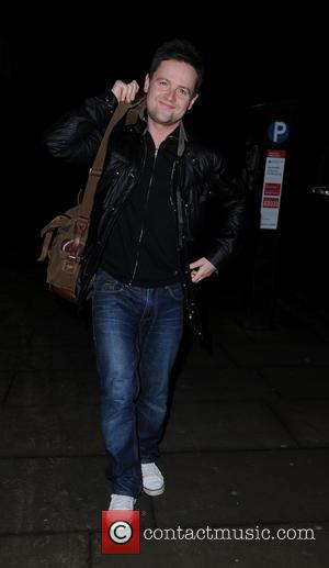 Declan Donnelly - Ant and Dec leave their Manchester Hotel Manchester United Kingdom Friday 1st February 2013