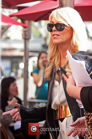 Dina Lohan - Dina Lohan seen shopping at The Grove Los Angeles California United States Friday 1st February 2013