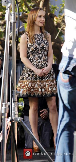 Christina Ricci - Christina Ricci On Extra Los Angeles California United States Friday 1st February 2013