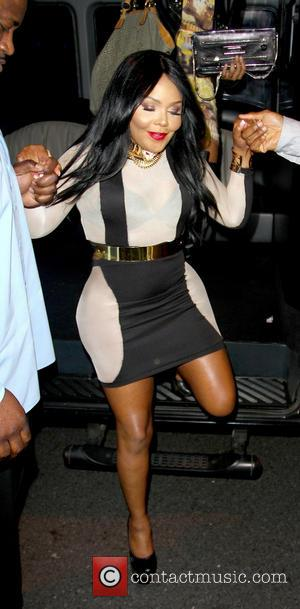 Lil Kim - Lil Kim Spotted in West Hollywood West Hollywood  California United States Friday 1st February 2013