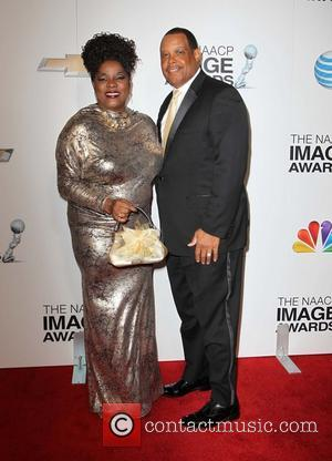Loretta Devine and Guest - 44th NAACP Image Awards - Arrivals Los Angeles California USA Friday 1st February 2013