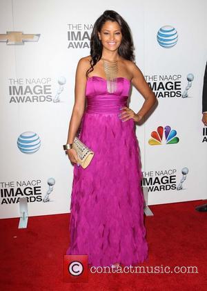 Claudia Jordan - 44th NAACP Image Awards - Arrivals Los Angeles California USA Friday 1st February 2013