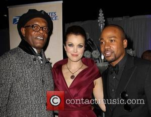 Samuel L. Jackson, Bellamy Young and Columbus Short