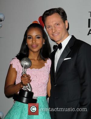 Kerry Washington and Tony Goldwyn - 44th NAACP Image Awards - PressRoom Los Angeles California USA Friday 1st February 2013