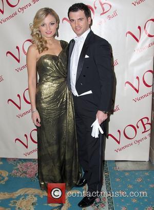 Tony Dovolani and Lina Dovolani