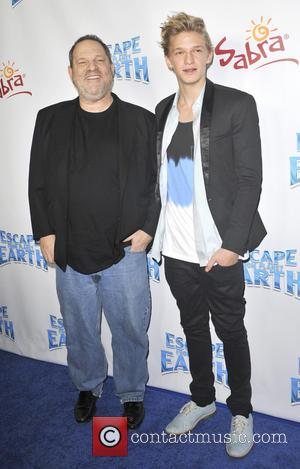 Harvey Weinstein and Cody Simpson