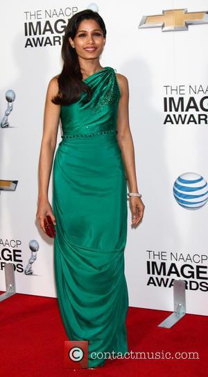 Freida Pinto - 44th NAACP Image Awards Los Angeles California United States Friday 1st February 2013