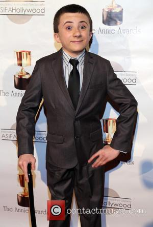 Atticus Shaffer - 40th Annual Annie Awards at Royce Hall on the UCLA Campus - Arrivals Los Angeles California United...